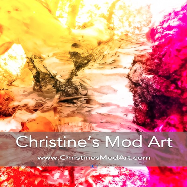 RAW Artists showcase Christine's Mod Art