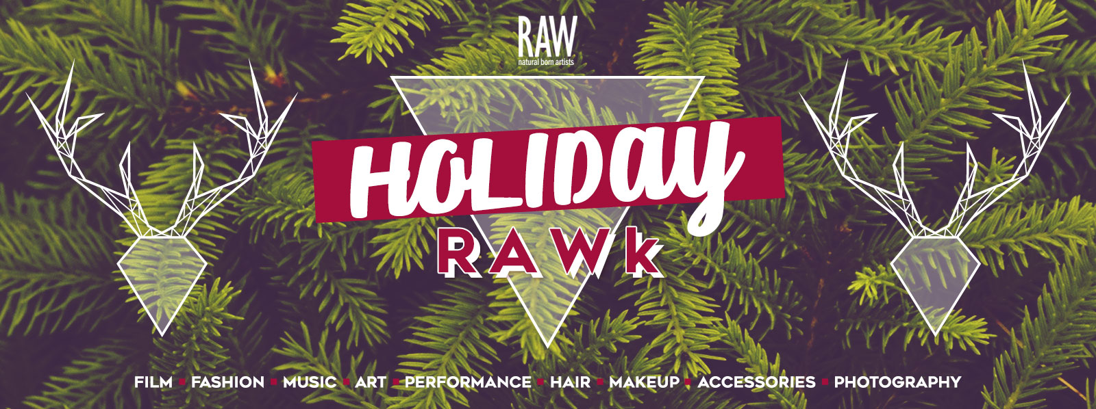 RAW Vancouver presents Holiday RAWk 2016