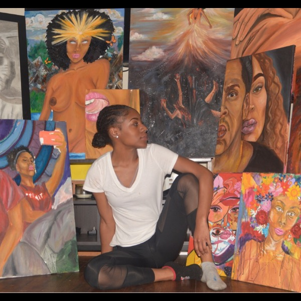 RAW Artists showcase Kyla the Artist