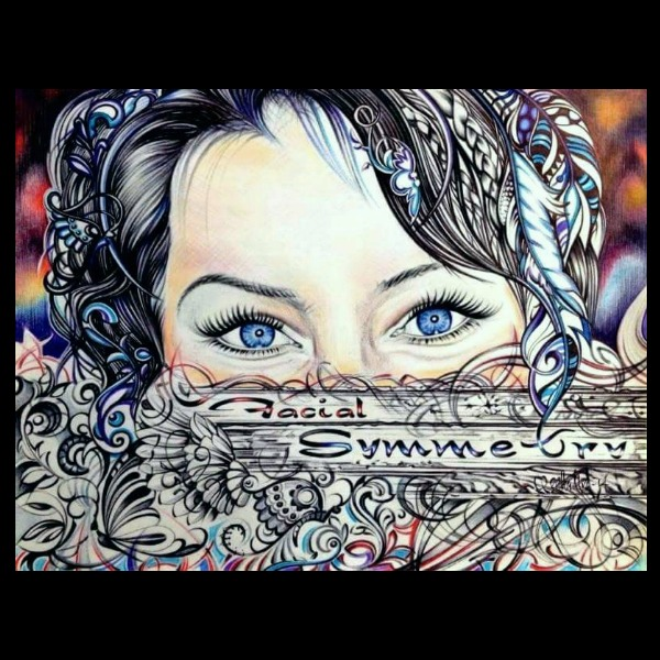RAW Artists showcase Minou Facial Symmetry