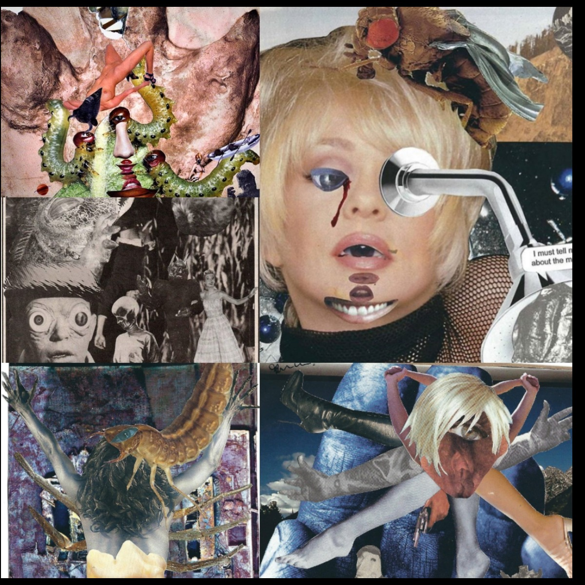 RAW Artists showcase NEVER Collage