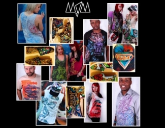 RAW Artists showcase MJM Artwear